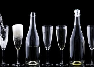Champagne by Dariusz Sankowski