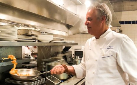 Chef Eric Ripert In The Kitchen