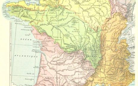 Map France Regions