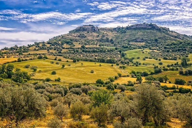 Mediterranean Landscape Photo by Tama66